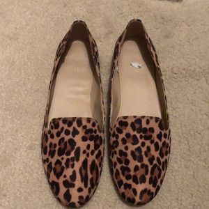 EUC Aldo Animal Print loafers- size 9